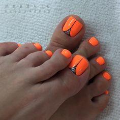 Ideas for Toenail Art Designs - Gorgeus Pedicure Nail Art New Nail Art Best Toenail Pretty Toe Nails, Cute Toe Nails, Gorgeous Nails, Toe Nail Color, Toe Nail Art, Nail Colors, Pedicure Colors, Hair And Nails, My Nails