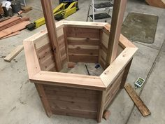 """DIY Wishing Well – Free woodworking plans Source by kmflag Related posts: DIY Wishing Well: Free woodworking plans! Woodworking Ideas,best … Continue reading """"DIY Wishing Well: Free woodworking plans! Kids Woodworking Projects, Awesome Woodworking Ideas, Woodworking Furniture Plans, Woodworking Crafts, Wood Projects, Woodworking Shop, Woodworking Videos, Popular Woodworking, Sauder Woodworking"""