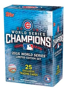2016 Topps Chicago Cubs World Series Commemorative 25 Card Set - Fanatics Authentic Certified - Baseball Team Sets -- Be sure to check out this awesome product. (This is an affiliate link and I receive a commission for the sales) World Series 2016, Chicago Cubs World Series, Cubs Win, Trading Cards, Baseball Cards, Shop, Basketball Rules, Basketball Uniforms