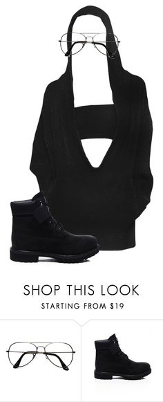 """""""bbb"""" by minnamny ❤ liked on Polyvore featuring ZeroUV and Timberland"""