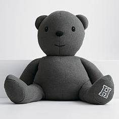 personalized heirloom knit bear