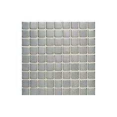 "Daltile SS50-11MS1P Metallica Brushed Stainless Steel 1"" x 1"" Glass & Metal Mosa Brushed Stainless Steel Tile Wall Tile Mosaic"