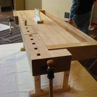 Photo by Ian Mackay Woodworking Bench, Cool Websites, Work Benches, Furniture, Home Decor, Working Tables, Decoration Home, Room Decor, Home Furnishings