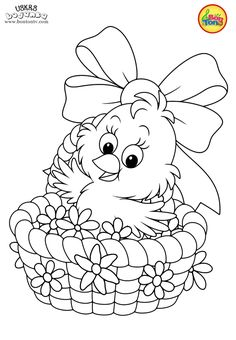 Easter coloring pages - Uskrs bojanke za djecu - Free printables, Easter bunny, eggs, chicks and more on BonTon TV - Coloring books Mermaid Coloring Pages, Easter Coloring Pages, Cute Coloring Pages, Free Printable Coloring Pages, Adult Coloring Pages, Coloring Pages For Kids, Coloring Sheets, Coloring Books, Free Printables