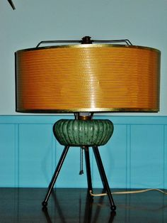 ATOMIC AGE Table LAMP  Mid Century Modern by TrippedOutAtomic, $95.00