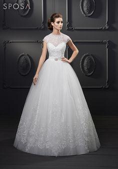 SPOSA Prinzessinen Hochzeitskleid
