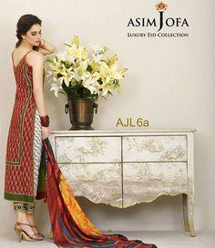 Asim Jofa Luxury Lawn Eid Collection 2015 AJL_6A
