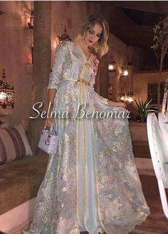 Silver caftan Morrocan Dress, Moroccan Caftan, Moroccan Style, Kaftan Abaya, Caftan Dress, Kaftan Style, Hijab Dress, Indian Party Wear, Abaya Fashion