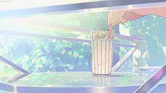 ideas for anime art aesthetic gif Japanese Aesthetic, Aesthetic Gif, Aesthetic Wallpapers, Cat Anime, Anime Art, Anim Gif, The Garden Of Words, Film D'animation, Scenery Wallpaper