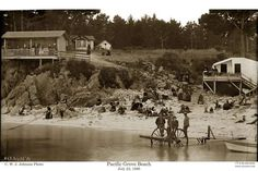 Lover's Point in Pacific Grove, 1886. The popular beach area is now home to Beach House restaurant. Photo: Courtesy Of Pat Hathaway, California Views
