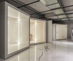 Потрясающий дизайн торговых площадей для магазинов Ariostea
