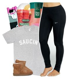 """Untitled #100"" by pvrtynextdoor ❤ liked on Polyvore featuring NIKE and UGG Australia"