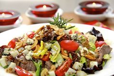 The Café Sucré Farine: Sliced Steak Salad - Quick & Delicious - a Meal-in-One!