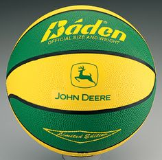 John Deere Trademark Basketball