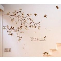 Birds Of Lovesong Sing Love Song With the Birds Wall Sticker by walloo
