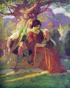 "Wallace & Marion: ""The Scottish Chiefs"" by Jane Porter / Illustrated by N.C. Wyeth  (Scribner, 1941)"