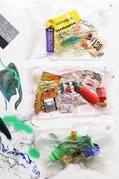 When the Snow Melts on Behance Trash Art, A Level Art, Fabric Manipulation, Environmental Art, Textile Prints, Textiles, Graphic Design Art, Installation Art, Packaging Design