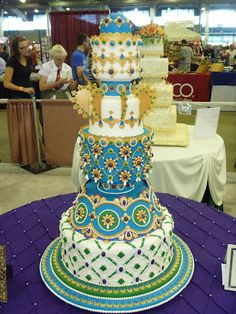 | Grand Prize cake of the Grand National Wedding Cake Competition, made ...