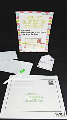 I love teaching letter writing in the classroom. Students love writing friendly letters to each other. I've got 6 ideas for making teaching letter writing easier for you including sample anchor charts, picture book ideas and extension activities. Letter Writing For Kids, Letters For Kids, Writing A Book, Writing Ideas, Writing Letters, Teaching Letters, Teaching Writing, Teaching English, Teaching Ideas