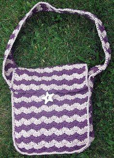 Julia - Solid Shell Stitch Shoulder Bag