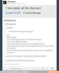 Panic! At the disco<<Excuse you, but it's Panic! At the Discount. Peasant.