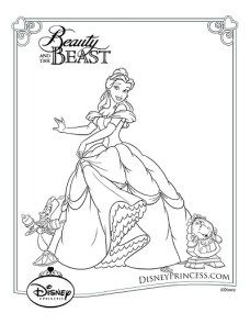 Beast And Maestro Forte Coloring Page
