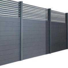 Pack poteaux en aluminium pour Clôture Dolomite & Sicile - Extérieur