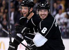 """We got seven guys that have completely different personalities,"" said Drew Doughty, the team's star defenseman. Hockey Girls, Hockey Mom, Ice Hockey, Boys, Flyers Hockey, Hockey Players, La Kings Hockey, Maple Leafs Hockey, Lets Go Pens"