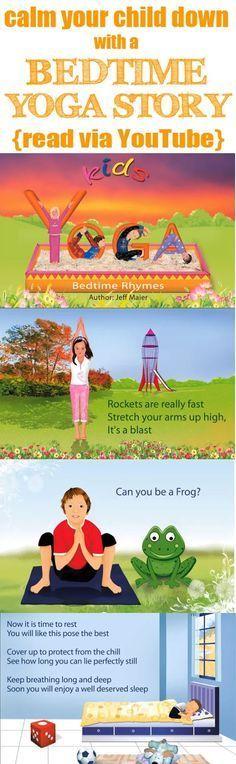 Miss Poppins: Teaching Children Calming Techniques Using Bedtime YOGA Story #bedtime #bedtimeroutine