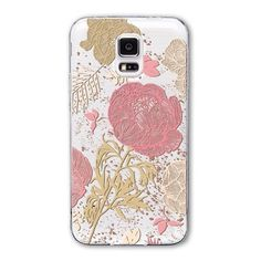 Fundas Phone Case for Samsung Galaxy S5 Free Shipping Soft Silicon TPU Transparent Various Cute Animals Girl Flower Pattern Capa