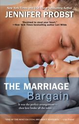 The Marriage Bargain:  one of my favorite books that I read this year.  I give it a 10.
