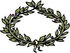 roman laurel wreath clip art - AT Yahoo! Crown Clip Art, Golden Awards, Crown Illustration, Crown Aesthetic, Crown Drawing, Leaf Crown, Laurel Wreath, Tree Branches, Body Art Tattoos
