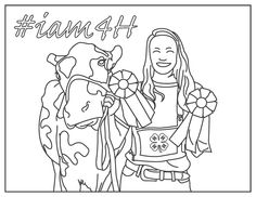 4-H coloring pages - Google Search | 4-H week | Pinterest | Google ...
