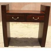 >Contemporary Strong Wood Console Sofa Hall Foyer Table