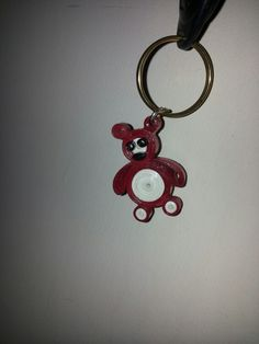 Keychain quilling