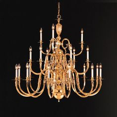 21 Light Chandelier in Polished Brass Finish This 21 light chandelier by Crystorama has a polished brass finish. Utilizes (but does n Mini Chandelier, Brass Chandelier, Chandelier Lighting, Chandeliers, Essex Homes, Drum Shade, Polished Brass, Solid Brass, Home Decor Furniture