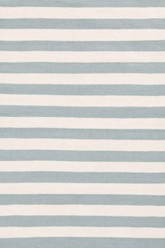 #DashAndAlbert Trimaran Stripe Light Blue/Ivory Indoor/Outdoor Rug