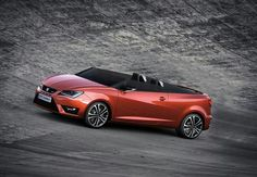 Seat Ibiza Cupster celebrates anniversary of Ibiza brand. Seat Ibiza Cupster heads to Worthersee. Images, features of Seat Ibiza Cupster Ibiza, Supercars, Convertible, Car Guide, Engines For Sale, Auto Motor Sport, Roadster, Car Posters, Poster Poster