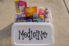 """Bolling With 5: College Care """"Boxes"""""""