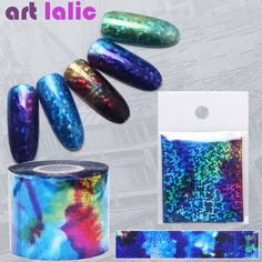 5 *20cm Nail Accessories Van Gogh Star Nail Foil Stickers Decals DIY Tools Starry Sky Fantasy Nail Art Decoration