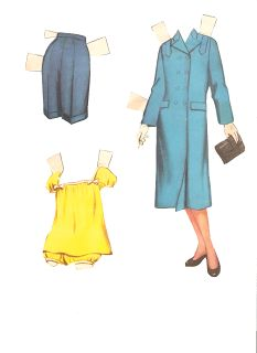 Miss Missy Paper Dolls: Debbie Reynolds-clothes