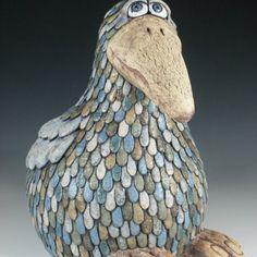 Ptáci Ceramic Clay, Art Club, Sculptures, Jar, Pottery, Ceramics, Gallery, Decor, Ideas