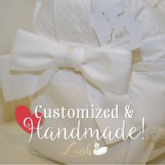 { Give your sweetie the details that matter! } Our customized diaper bags are truly one-of-a-kind. With tons of space and stitched with love, your bag will be the best gift you ever gave yourself (or someone else :-) )  Visit our website to learn about all our customizable items: http://www.leushboutique.com/store #custom #handmade #leushboutique #diaperbag