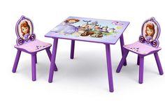 SET MESA Y SILLAS INFANTILES DE MADERA, SOFÍA. TT89485SF, IndalChess.com Tienda de juguetes online y juegos de jardin