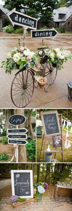 Cartelería bodas