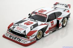 Ford Capri Turbo Gr.5, Champion DRM 1981, No.2, Ludwig. Minichamps, 1/18, No.100 818602, Limited Edition 1350 pcs. 150 EUR