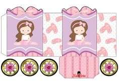 Ballet: Princess Carriage Shaped Free Printable Box.