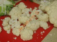 Fırında Karnabahar Tarifi Yapılış Aşaması 2/16 Cauliflower, Cheesecake, Diet, Canning, Vegetables, Desserts, Food, Sari, Turkish Cuisine