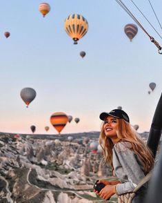 Pin by Tatiana Efimova on Cappadocia by Fiimova in 2018 Travel Pictures, Travel Photos, Travel Images, Photography Poses, Travel Photography, Places To Travel, Places To Go, Foto Instagram, Save Instagram