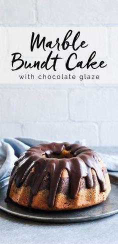 Marble Bundt Cake #marblecake #bundtcake #bundt #bundtpan #chocolatecake